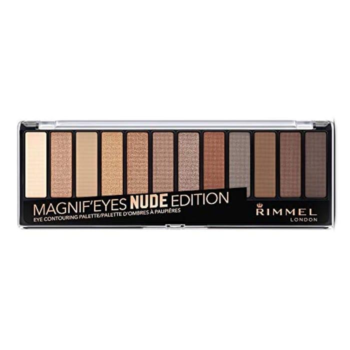 Rimmel London Magnifies 12 Pan Eyeshadow Palette,