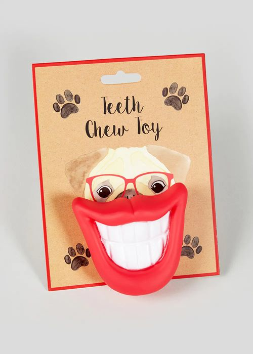 Dog Chew Toy - Teeth - Only £1.50!