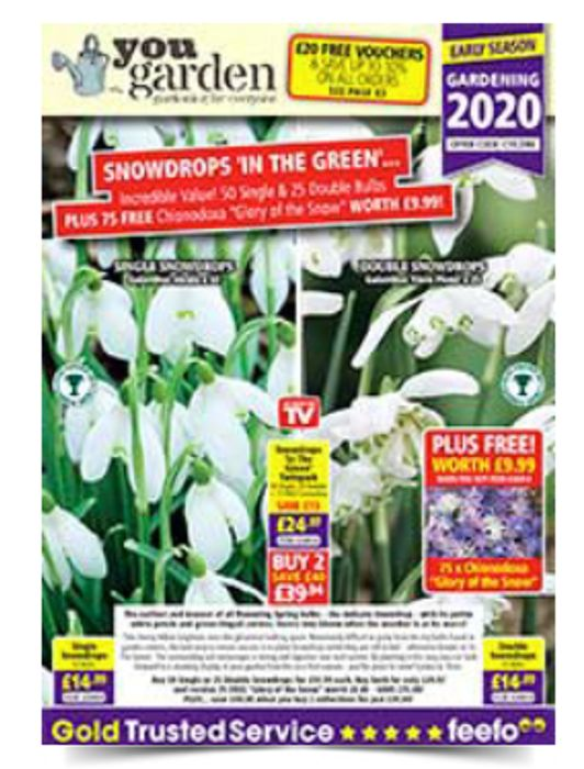 Get The New 2020 Catalogue From 'You Garden' FREE BY POST