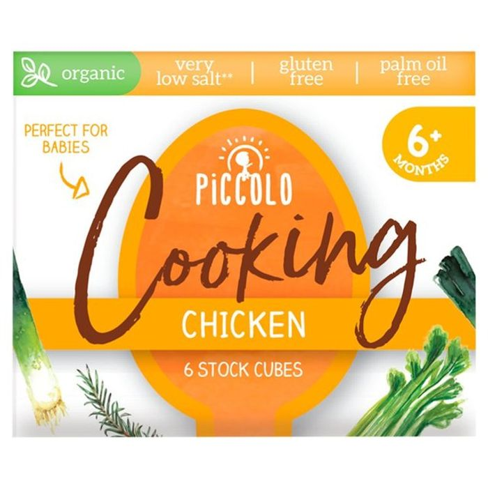 Free Piccolo Organic Stock Cubes Chicken or Vegetable