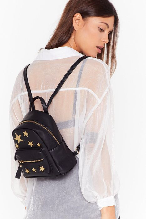 Cheap WANT Blazing Star Faux Leather Backpack, Only £7!