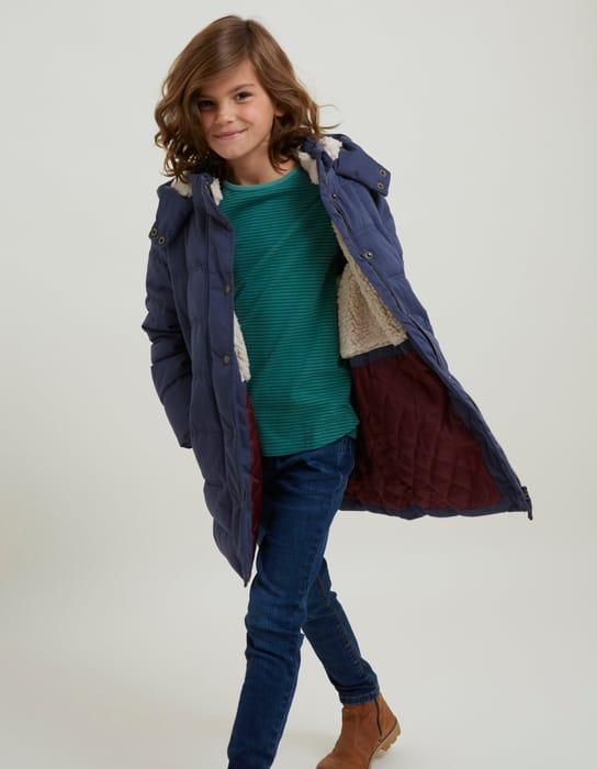 Longline Puffer Jacket Chlidrens