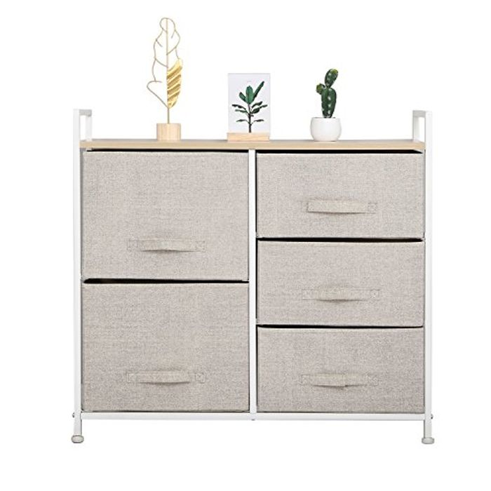 5-Drawer Storage Organizer Unit