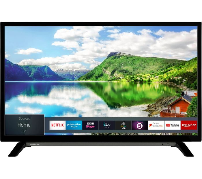 "*SAVE £20* TOSHIBA 32"" Smart HD Ready LED TV with Freeview"