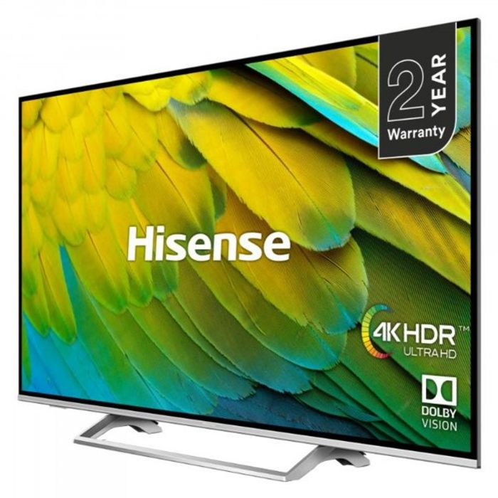 "*SAVE £190* Hisense 55"" 4K HDR Certified Smart TV (Discount Applied at Checkout)"