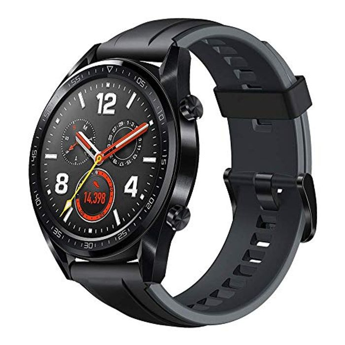 """HUAWEI Watch GT - GPS Smartwatch with 1.39"""" AMOLED Touchscreen Only £99.99"""