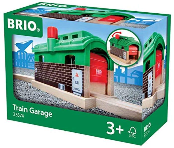 Cheap BRIO World - Train Garage, Only £14.53!