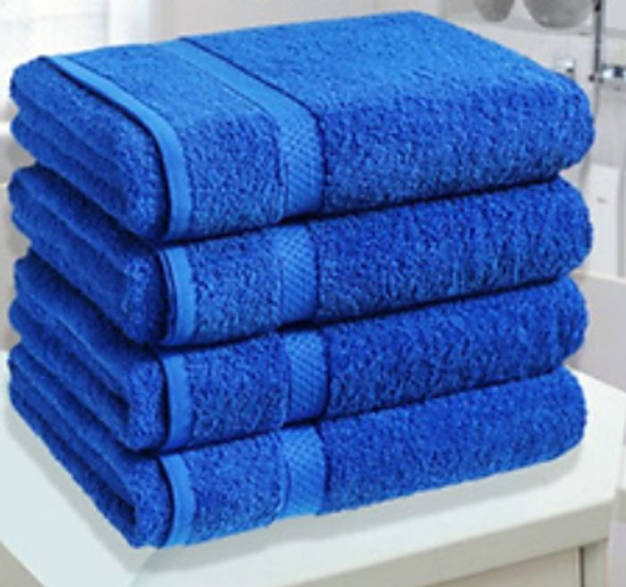 4 X Jumbo Egyptian Cotton Towels - 14 Colours (+ Extra 10% OFF)