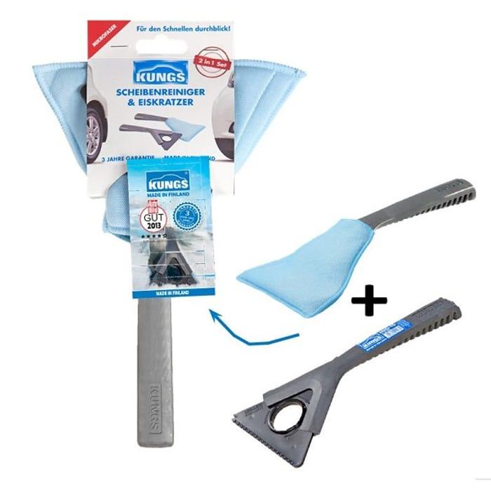 2 in 1 Ice Scraper & Window Cleaner @EuroCarParts