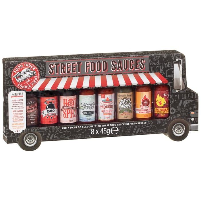 Street Food Sauces Van 8pk