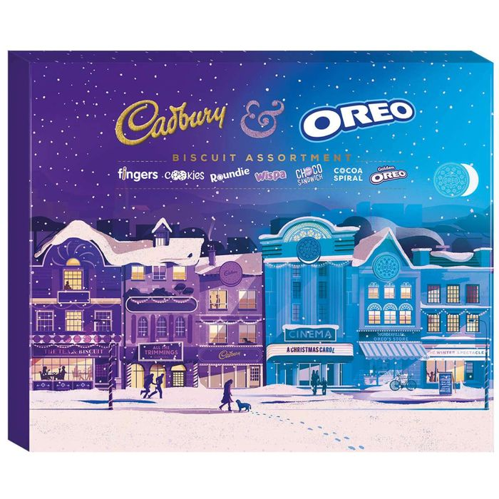 Cadbury Oreo Assortment Biscuits Box 502g