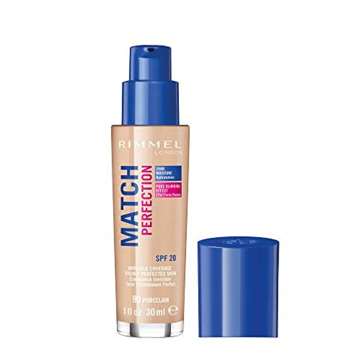 Cheap Rimmel London Match Perfection Liquid Foundation, Only £3.99!