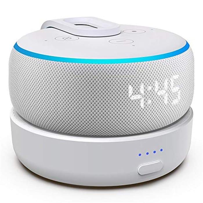 Updated Battery Base for Dot 3rd GenerationSmart Speakers