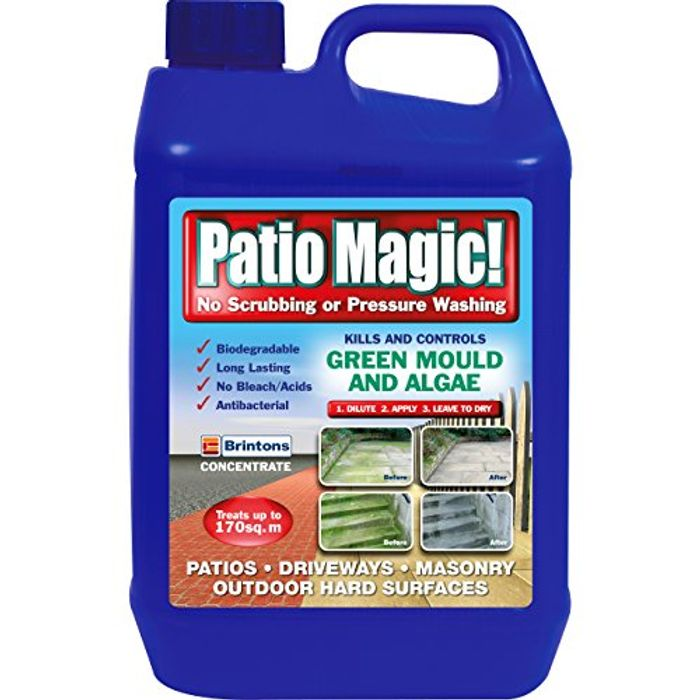 Patio Magic! 016492 Concentrate Ideal for Patios, Paths & Driveways