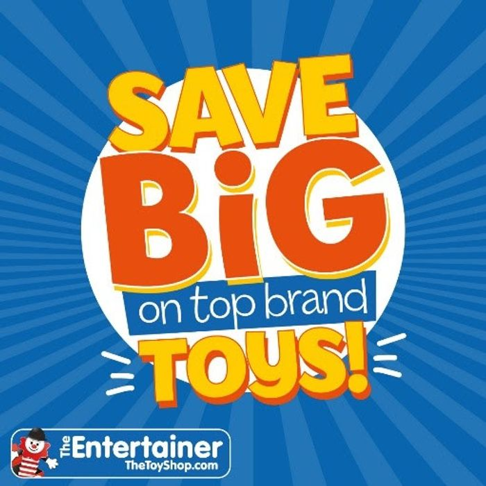 Big Brand Toy Sale Starts Today at the Entertainer!