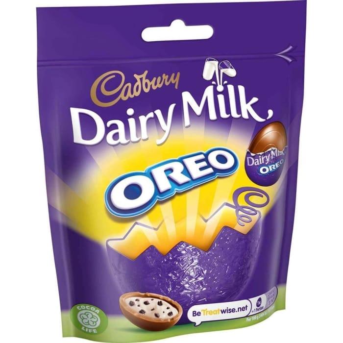 Dairy Milk Oreo Mini Eggs (18 X 82g Bags)