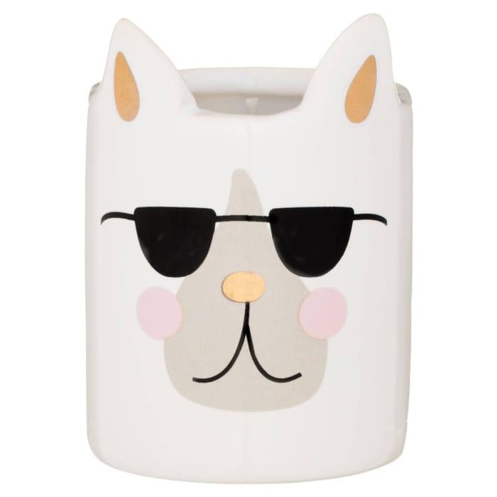Dog Candle - Glasses