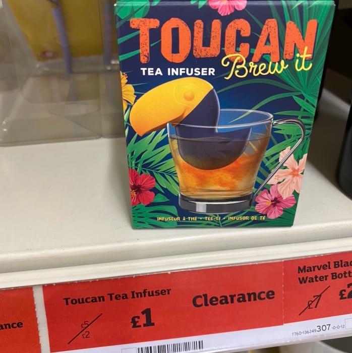 Toucan Tea Infuser