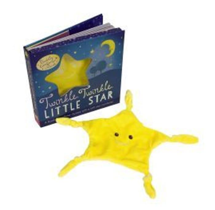 Twinkle Twinkle Little Star Book & Comforter