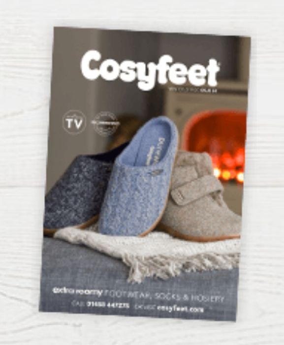 Get The New CosyFeet Catalogue FREE BY POST