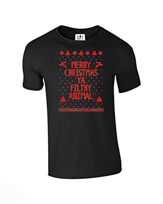 Best Price! Merry Christmas Ya Filthy Animal T-Shirt FREE DELIVERY