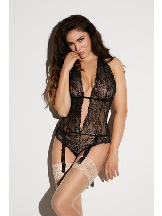 Lace Body Red or Black plus DEAL STACK