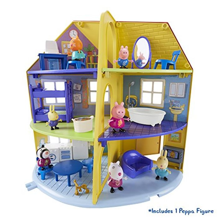 Bargain! Peppa Pig 06384 Peppa's Family Home Playset at Amazon