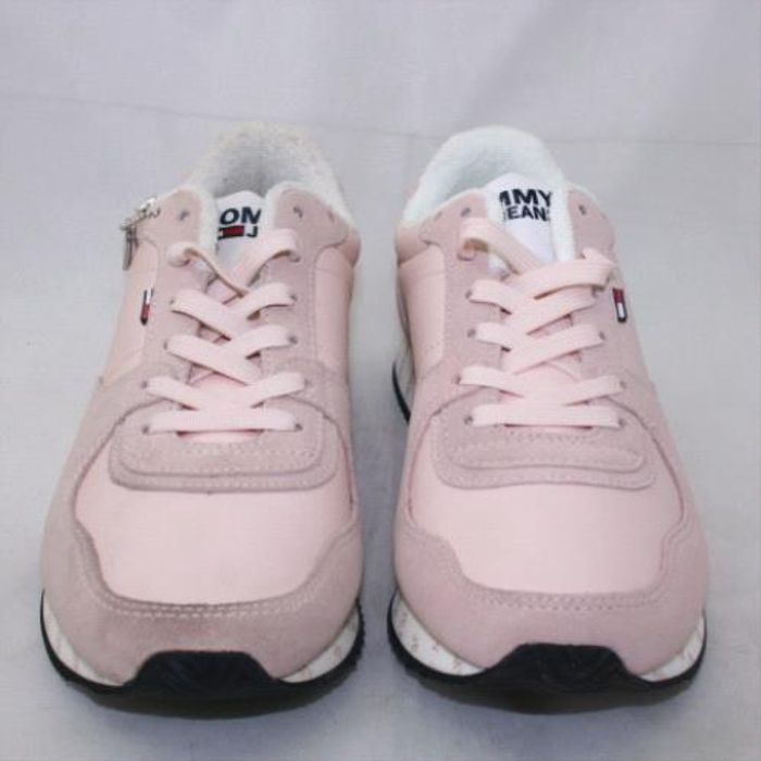 TOMMY HILFIGER Pale Pink Tj Branded Runner Trainers