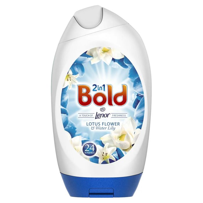 Bold Gel with Lenor Lotus Flower and Lilly 24 Washes 888ml