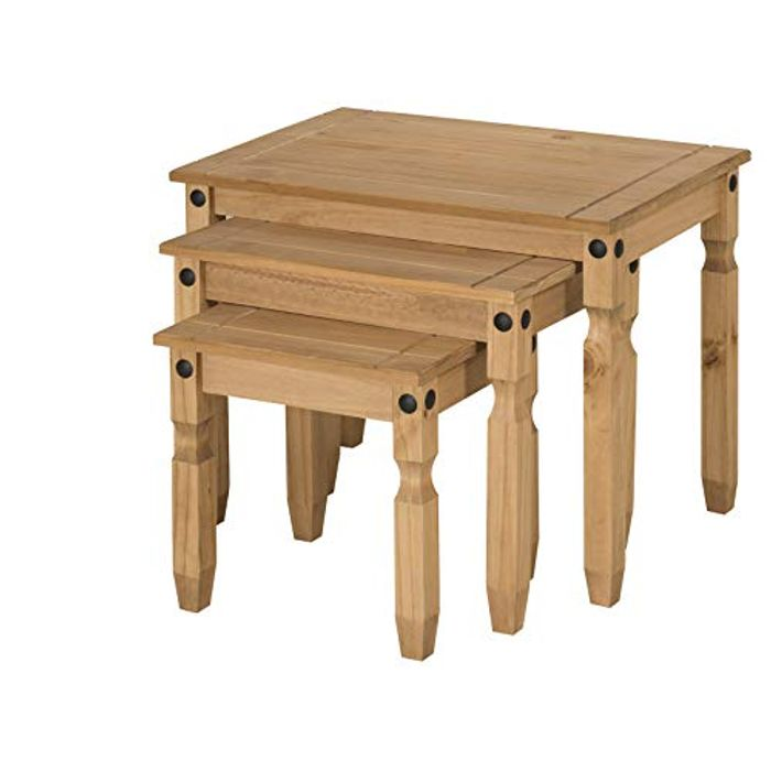 Corona Nest of Tables - Brown