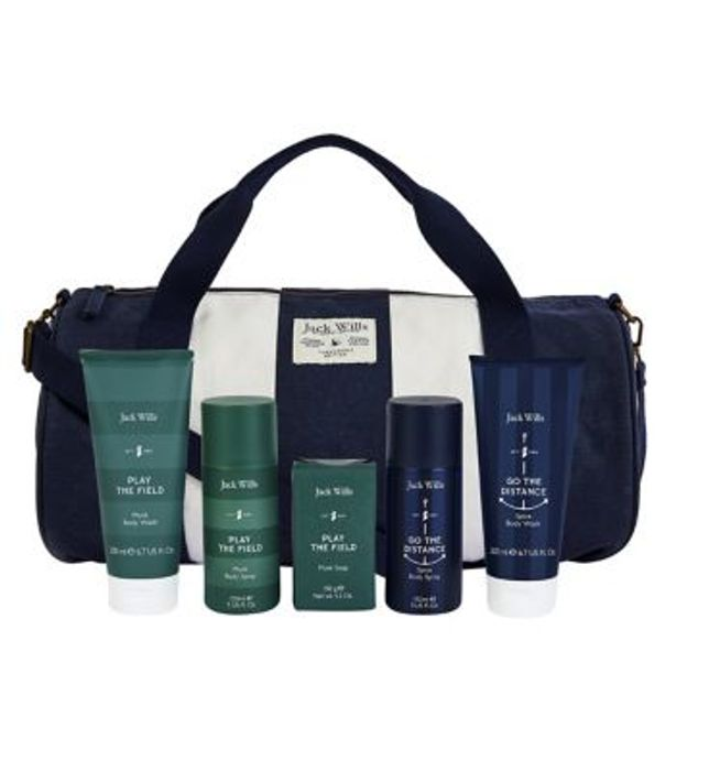 *SAVE over £25* Jack Wills Gym Bag Gift Set £18.22 With Code