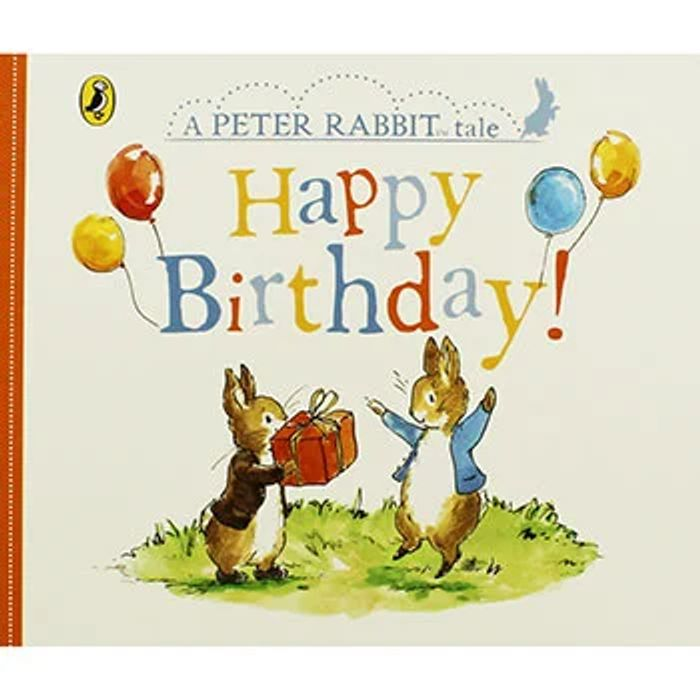 Cheap A Peter Rabbit Tale - Happy Birthday, Only £2!