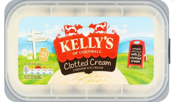 Kelly's Clotted Cream Cornish Ice Cream