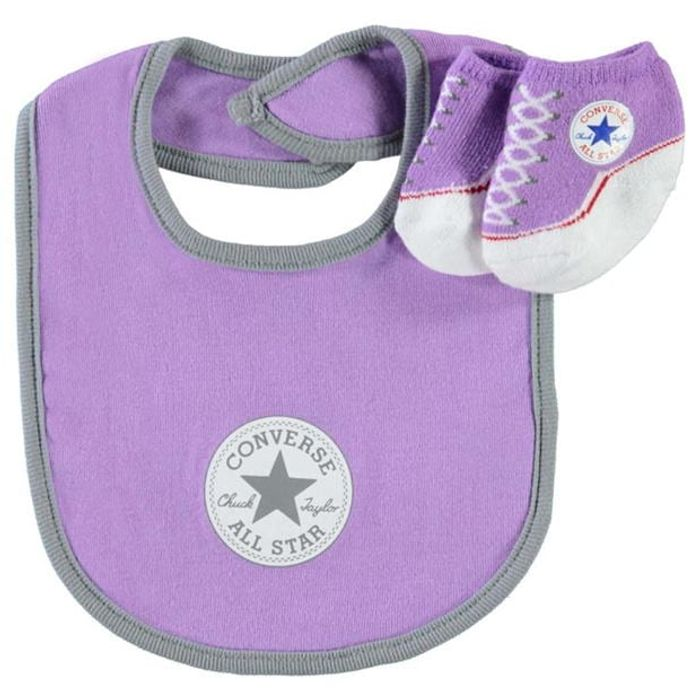 Converse Bib and Booties