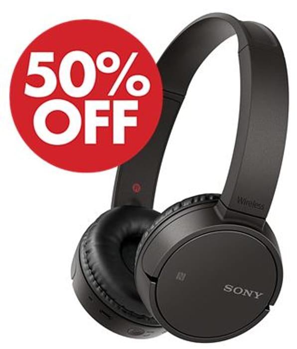 Sony WH-CH500 Wireless Bluetooth NFC On-Ear Headphones