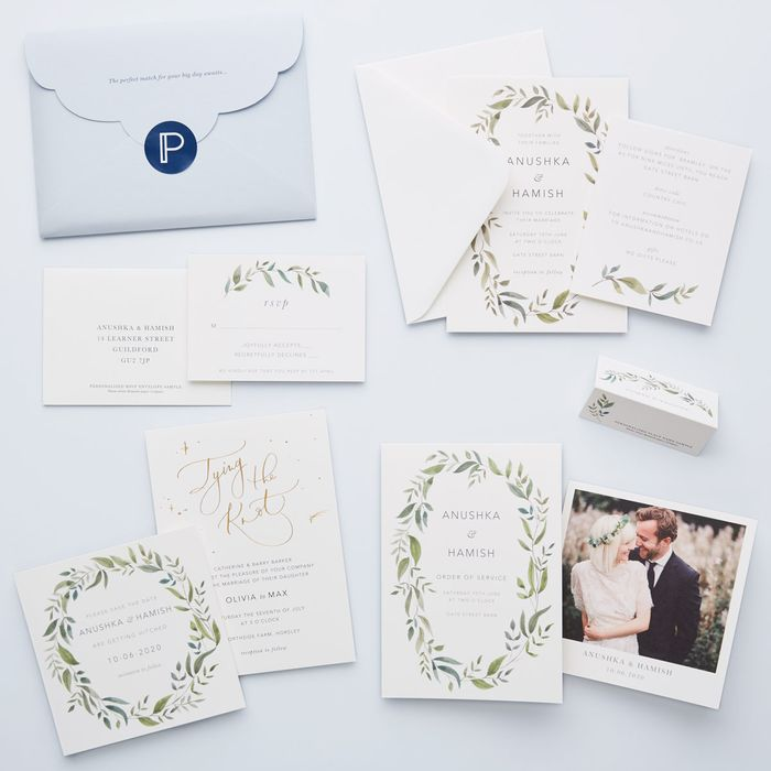 Wedding Sample Pack from Papier