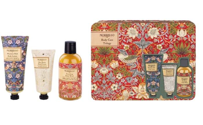 Heathcote & Ivory - 'Morris & Co. Strawberry Thief' Body Care Trilogy Gift Set