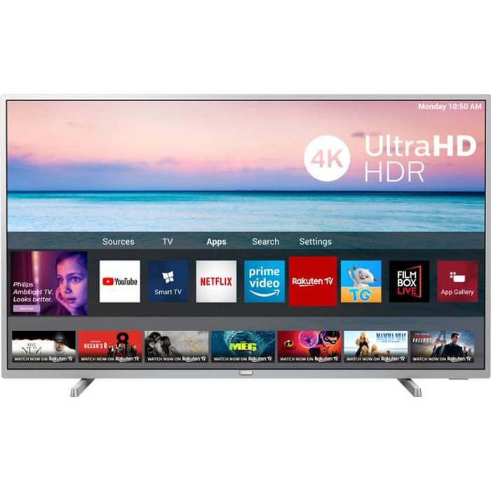 """Philips 43"""" Smart 4K Ultra HD TV with HDR10+ £260.10 with Code"""