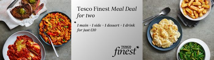 Tesco Finest £10 Meal Deal
