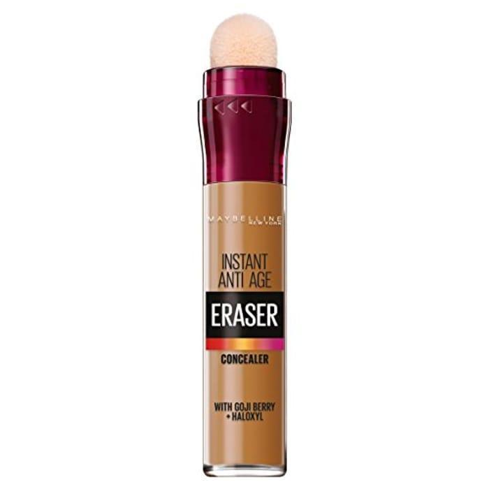 Maybelline Eraser Eye Concealer, 10 Caramel, 6.8 Ml