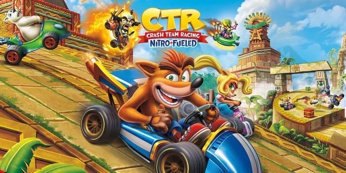 Nintendo Switch Crash Team Racing Nitro-Fueled (Digital) £20.99 at Nintendo eShop