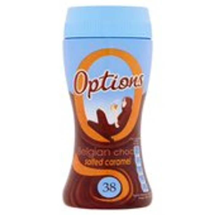 Options Belgian Chocolate Salted Caramel 220g