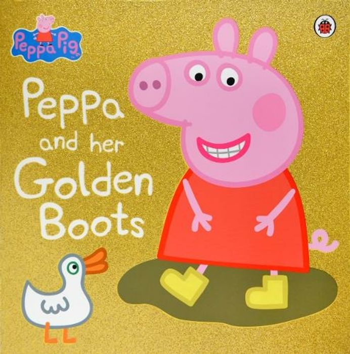 """Peppa Pig Book Half Price at WHSmith """"Peppa and Her Golden Boots"""""""