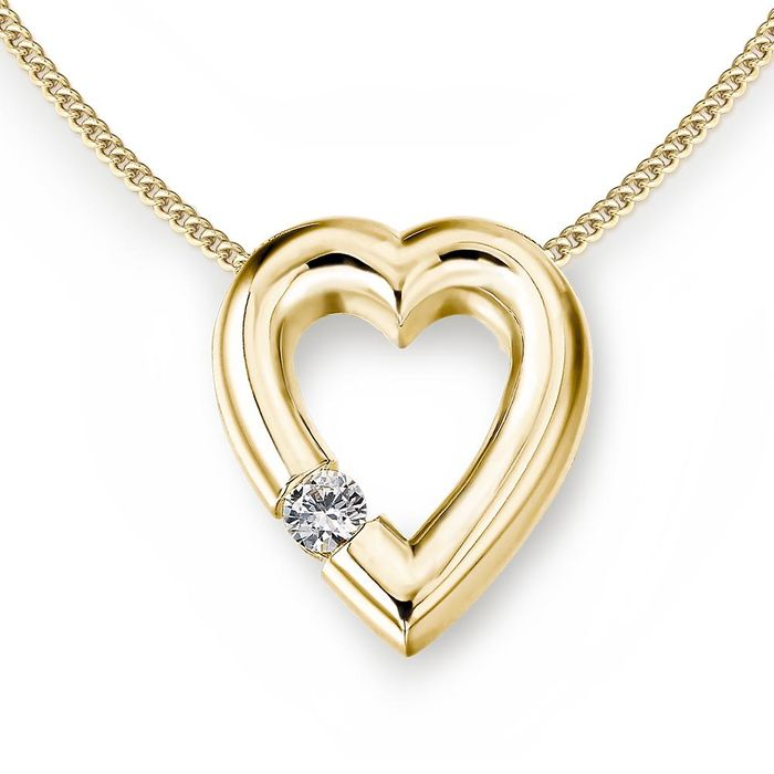 Twinkle Heart Pendent