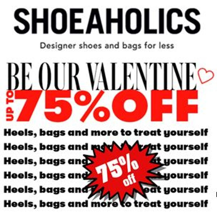 Up to 75% off Heels, Bags and More at Shoeaholics with code