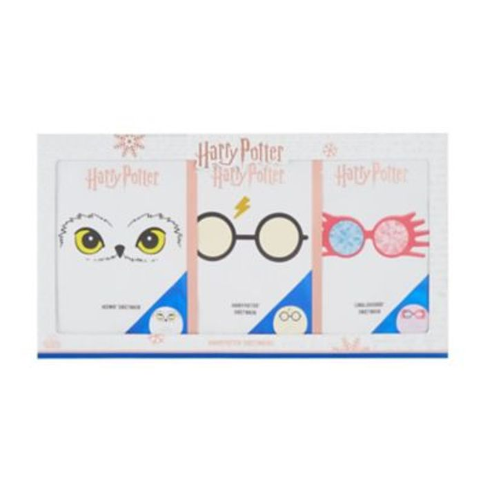 Harry Potter Sheet Masks X3 On Sale From £10 to £4.5