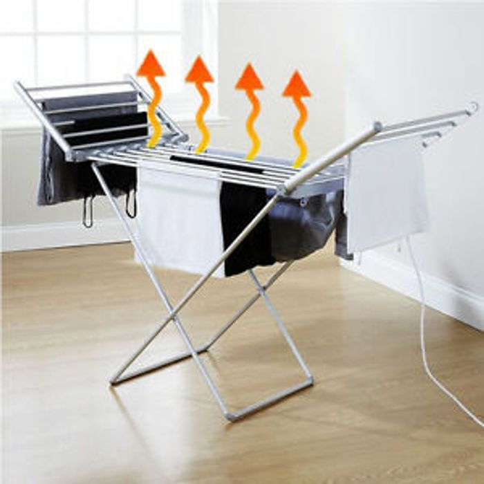 Electric Heated Folding Clothes Drying Horse