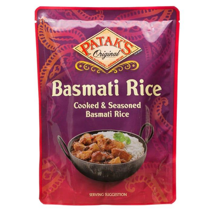 Pataks Original Basmati Rice 250g - 2 for £1