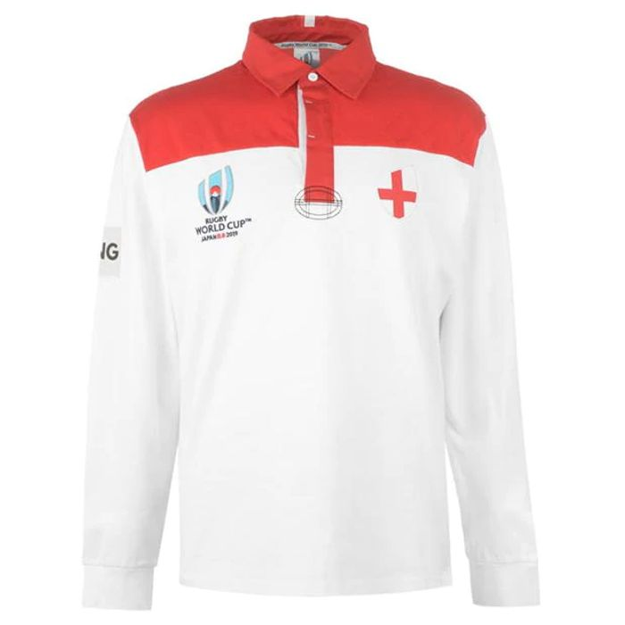 Rugby World Cup 2019 Team Long Sleeve Jersey Mens