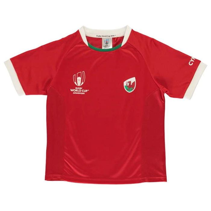 Cheap Rugby World Cup 2019 Team Poly T Shirt Boys at Sports Direct